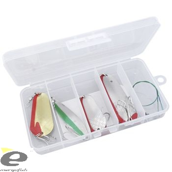 SET 4 CUCHARILLAS EXTREME ONDULANTE+2 CABLE ACERO+